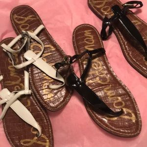 Bundle black and white Sam Edelman sandals